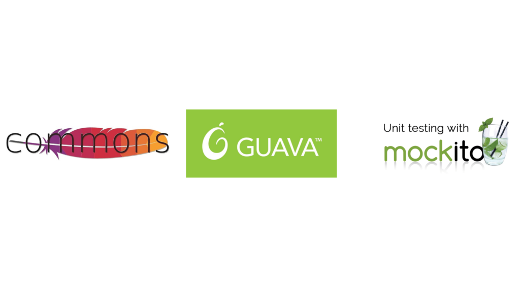 different popular libraries like Apache Commons or Guava Collections
